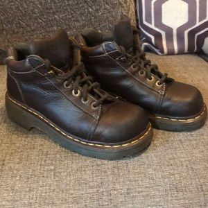 Vintage Dr. Martens Style 8542 Brown Leather Boots